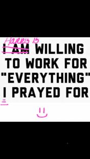 Harris prayer